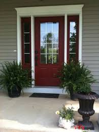 popular colors to paint an entry door front doors red paint and
