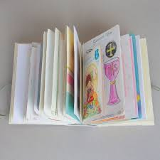 Book Birthday Card Birthday Card Book Folded Leaf