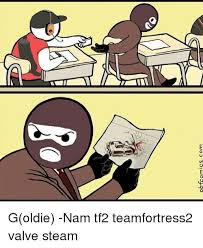Tf2 Memes - pbrcomics com goldie nam tf2 teamfortress2 valve steam meme on me me