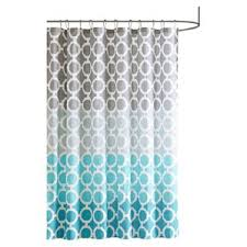 Turquoise Shower Curtain Modern Geometric Shower Curtains Allmodern