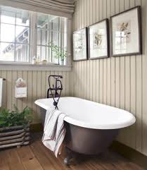Country Bathroom Designs Country Bathroom Decor Pine Board And Crown Molding Shelves