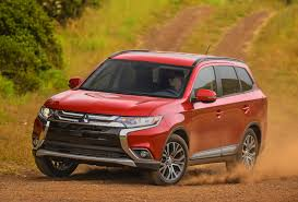 mitsubishi suv 2016 redesigned as rugged 2016 mitsubishi outlander get off the road