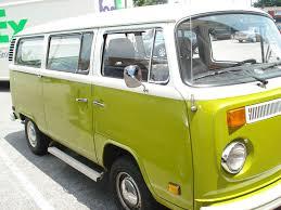 volkswagen old van the happenings of our little green volkswagen bus
