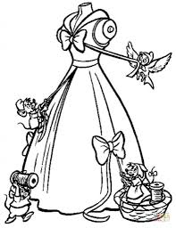 the amazing and also interesting coloring pages of cinderella to
