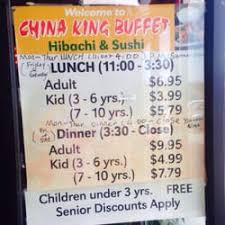 Chinese Buffet Hours by China King Buffet 11 Reviews Chinese A114 Morganton Heights