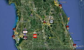 Map Of Ocala Fl 1 5 Acres On Hwy 40 U2013 Ocala Fl U2013 6 Adjoined Lots Each 1 4 Acre