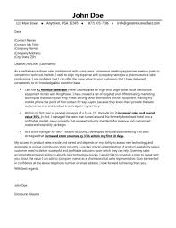 cover letter sales cover letters samples sales cover letter