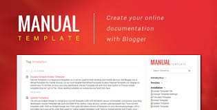 templates v1 blogger manual template create your online document with blogger
