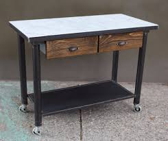 marble top kitchen island marble top kitchen island mid century industrial primitive