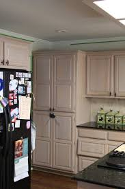 Oak Kitchen Cabinet by Racks Time To Decorate Your Kitchen Cabinet With Cool Pickled