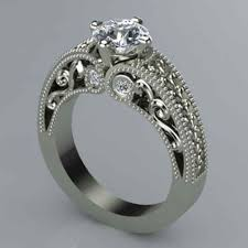 custom weddings rings images Show your partner how much you love her by designing for her jpg