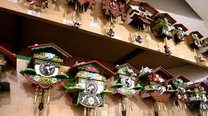 Clock Shop Cuckoo Clocks In Innsbruck Austria Youtube