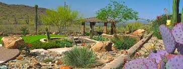 Desert Landscape Ideas For Backyards Landscape Design And Landscaping Contractor Desert Mountain