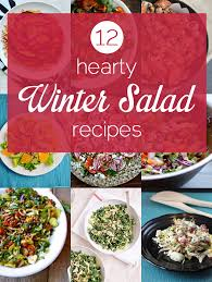 12 hearty winter salad recipes for thanksgiving thanksgiving