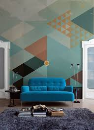 pixers geometric wall murals love chic living i m thrilled to be showcasing these amazing wall murals from a company called pixersize i d not come across these until very recently but love their