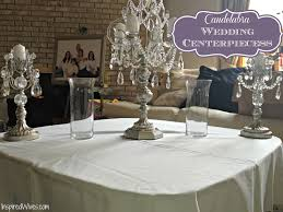 cheap candelabra centerpieces inspired i dos candelabra wedding centerpieces