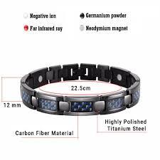 germanium energy bracelet images Stylish bio energy magnetic therapy bracelet for men sbrm095cf jpg