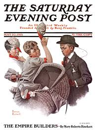a rockwell thanksgiving portrait the saturday evening post