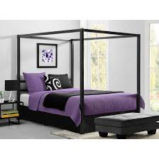 Uk Canopy Tent by King Size Canopy Bed Frame Modern Queen Metal Multiple Colors