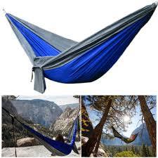 ipree upgraded type 270x140cm 210t nylon double hammock portable