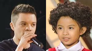 philipines haircut style watch bamboo sings tomorrow from annie on voice kids