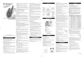 motorola two way radio t5419 user guide manualsonline com