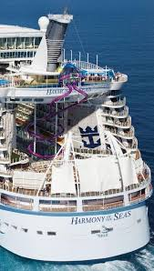 largest cruise ship in the world the biggest cruise ship to visit new zealand is dwarfed by others