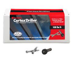 cortex driller steel deck framing hidden fastening system