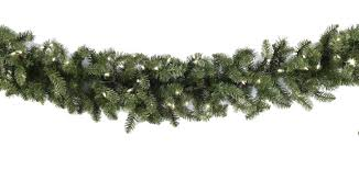 lighted garland douglas fir prelit garland