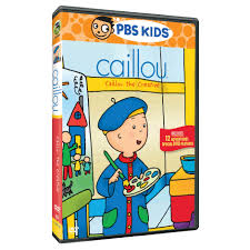 caillou caillou goes for the gold dvd shop pbs org