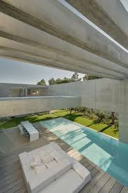water glass and concrete come together in a magnificent lisbon