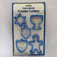 hanukkah cookie cutters hanukkah cookie cutters ebay
