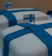 Finnish Flag Happy 96th Independence Day Finland Ronda K Designs Blog