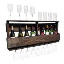 wood wall mounted wine rack houzz