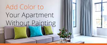 add color to your apartment without painting apartment finder blog