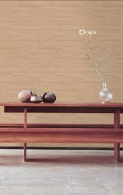 vinyl wallpaper linen texture dark brown origin luxury