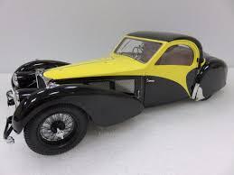 bugatti type 1 diecast model bauer 1 12 bugatti type 57sc atalante 1937 yellow