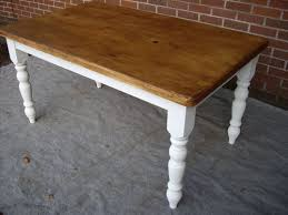 Refurbished Dining Tables Refurbished Dining Table Shabby Chic Vintage Reclaimed