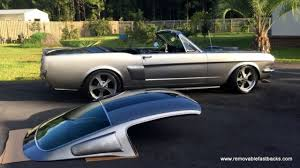 mustang fastback roof 1966 mustang roadster with removable fastback roof no reserve for