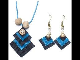jute earrings jute jewelry ornaments made by jute