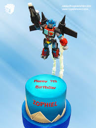 optimus prime cake topper transformers cake flying optimus prime with jetpack cake topper