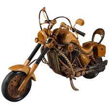 fabulous life size vintage carved wood model of a 1950s harley fabulous life size vintage carved wood model of a 1950s harley davidson for sale at 1stdibs