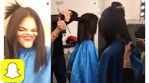 kylie jenner getting a haircut on snapchat kylie snaps youtube