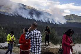 Wildfire Quesnel by New Wildfire Forces Evacuation Order Affecting About 1 100 People