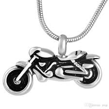 cremation jewelry for men wholesale ijd8605 motorcycle fashion cremation urn necklaces