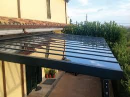 coperture tettoie in pvc tettoie in alluminio e policarbonato compatto trasparente aveolare