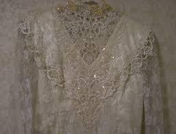 vintage jessica mcclintock wedding dress bridal vintagerotation