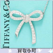 jewelry ribbon necklace images Kaitorikomachi rakuten global market tiffany ribbon pendant jpg