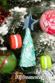 handmade holiday party diy ornaments see vanessa craft
