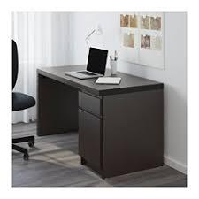 Computer Desks Black Malm Desk Black Brown Ikea